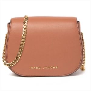 Marc Jacobs Avenue Crossbody Pecan Leather